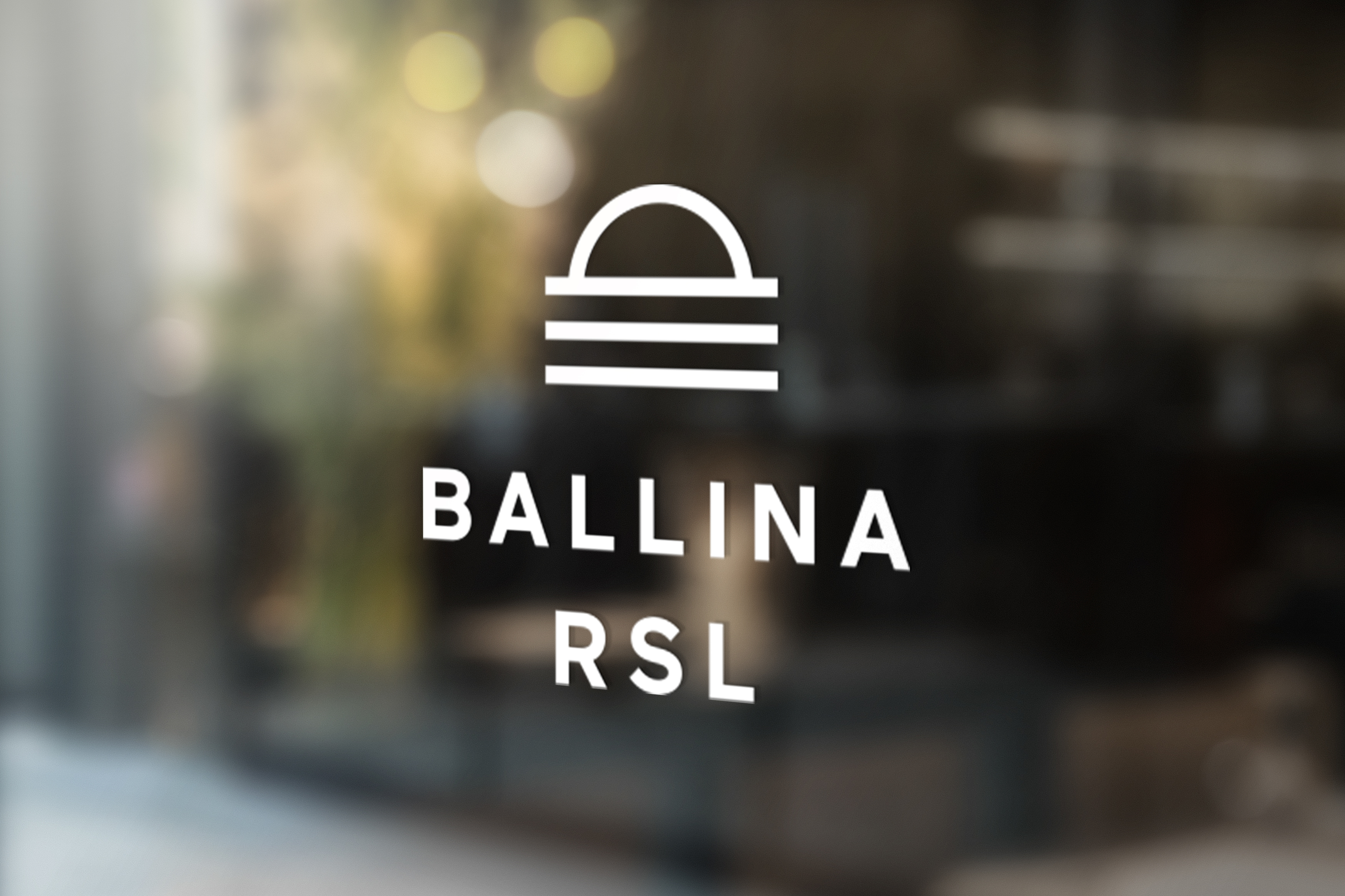 Ballina RSL Logo Mockup