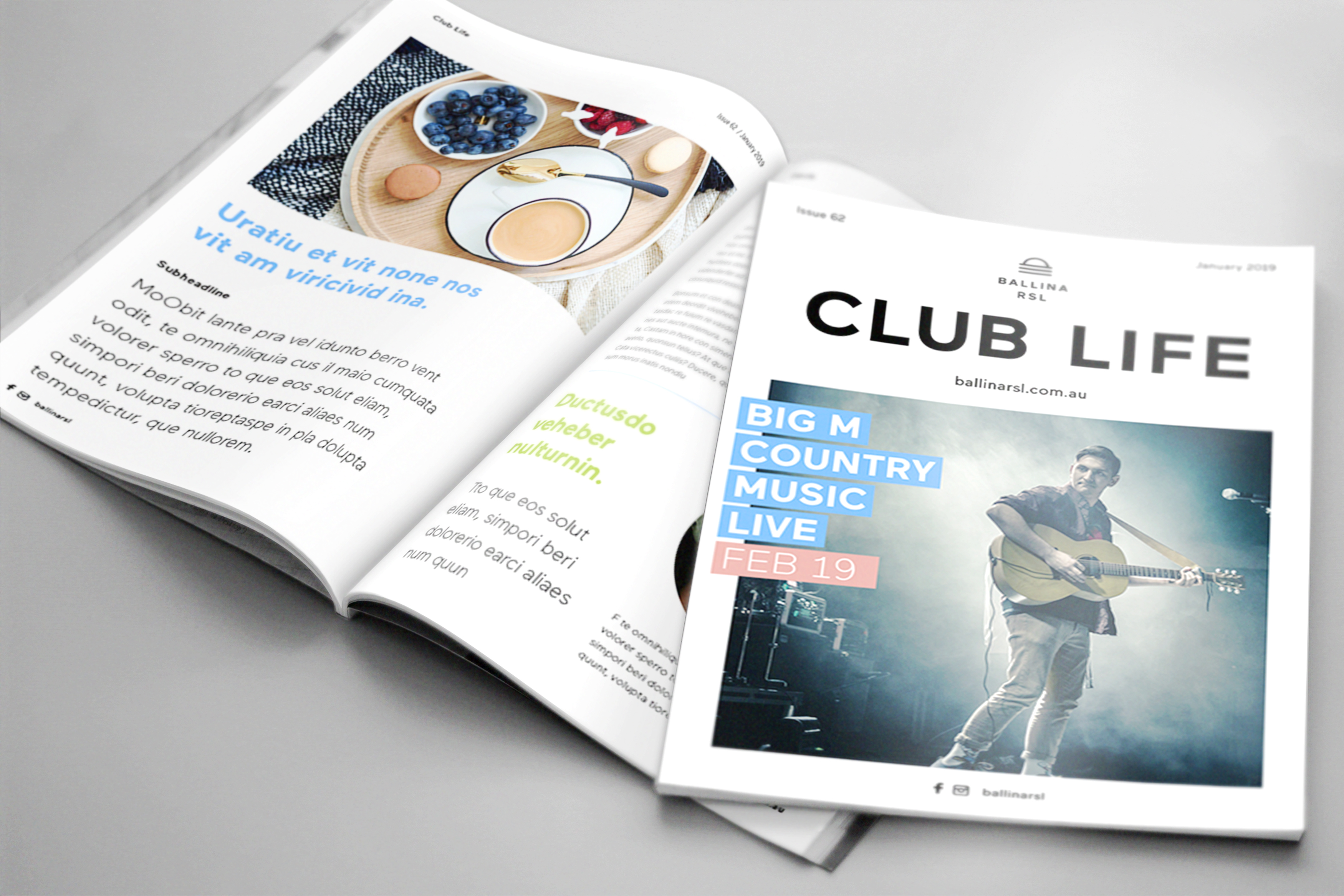 RSL Club Life Magazine