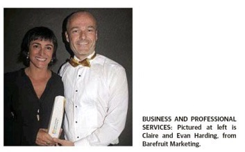 Barefruit wins big at the Ballina Business Excellence Awards