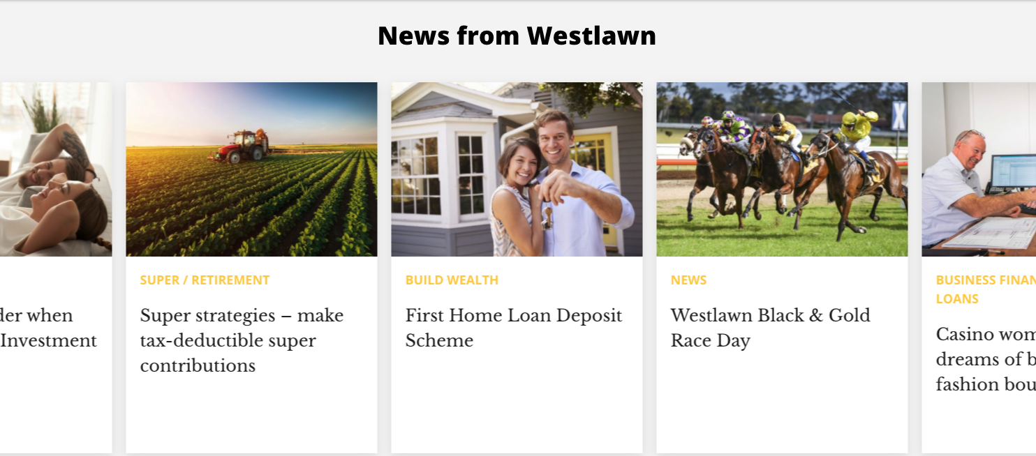 Westlawn Custom Web Design