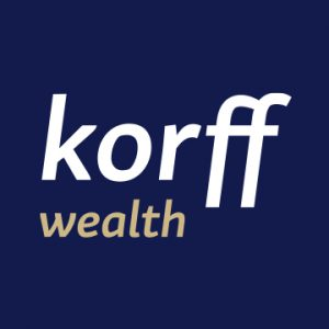 Korff Wealth logo for Rebrand