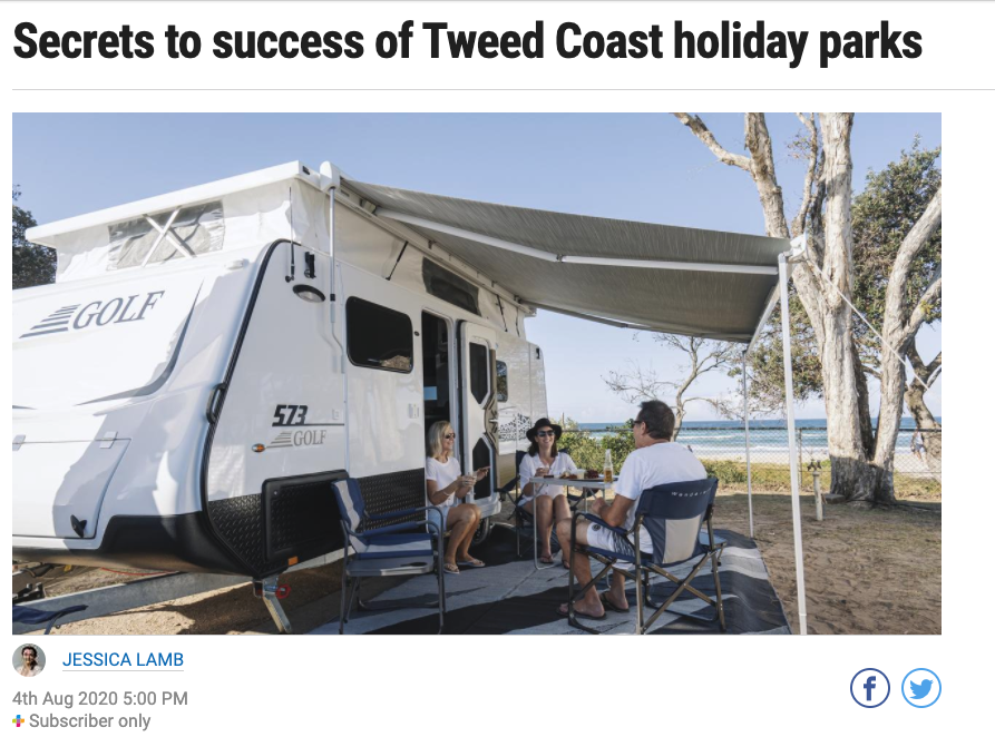 Secrets to success of Tweed Coast holiday parks
