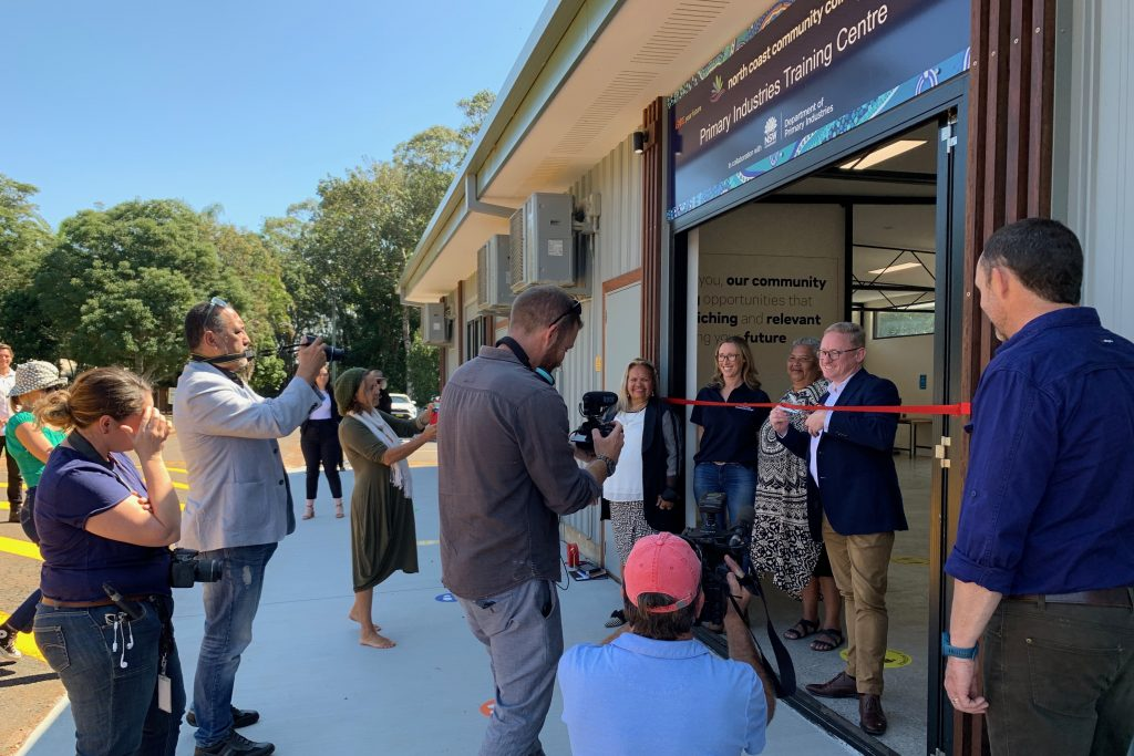 Ben Franklin opening Primary Industries Training Centre
