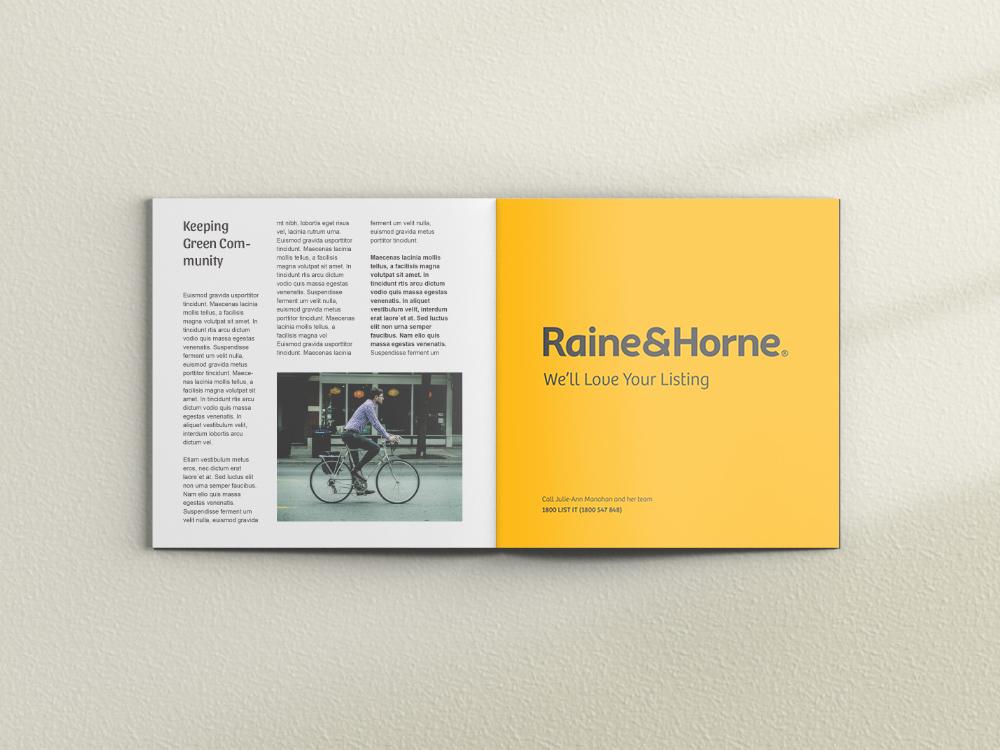 Raine & Horne Print Ad