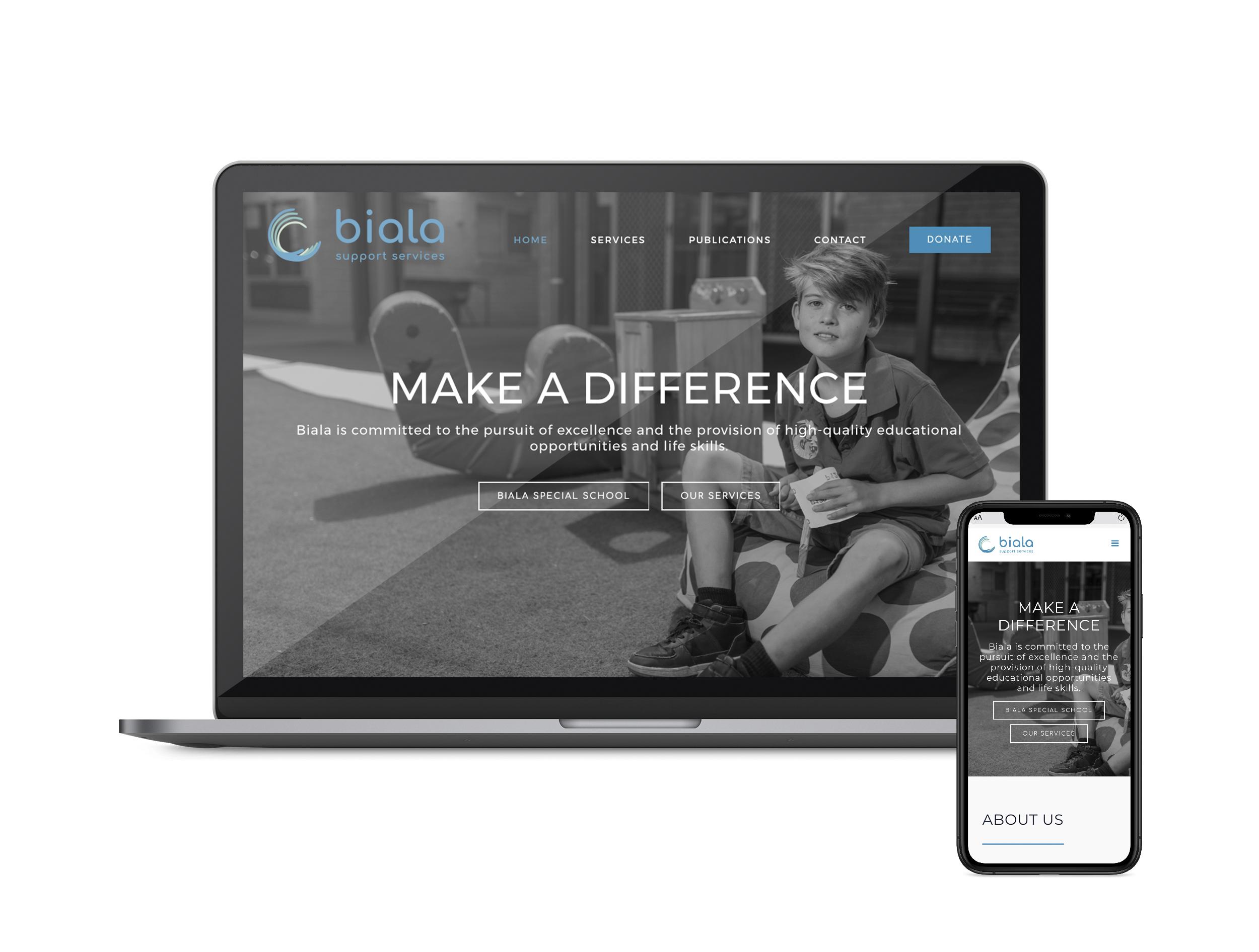 Biala Website