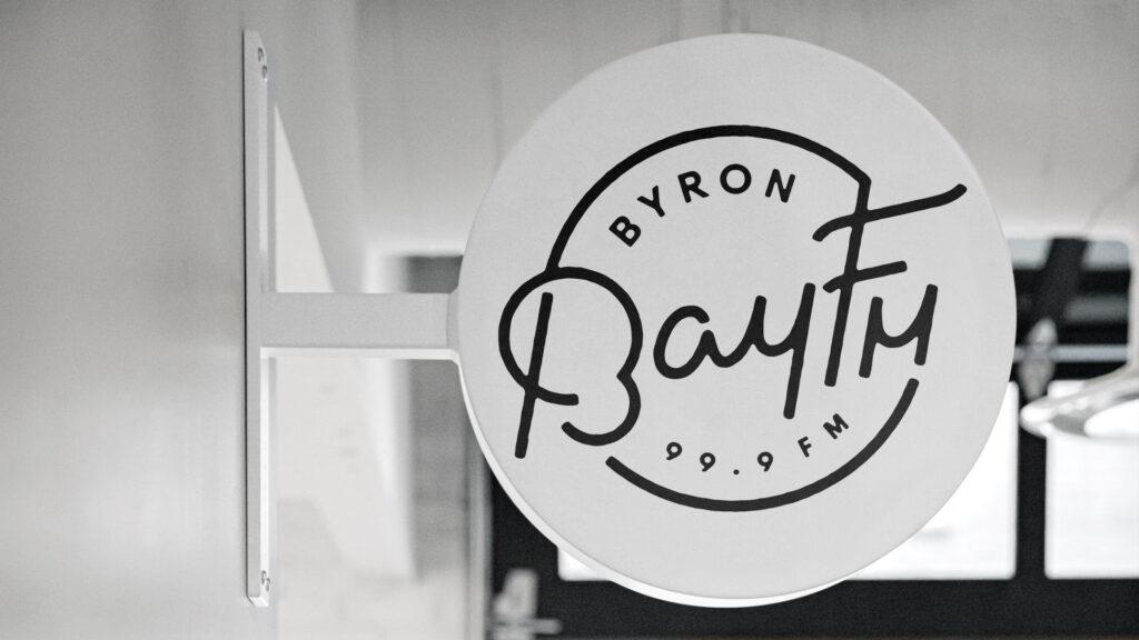 bay FM rebrand and logo