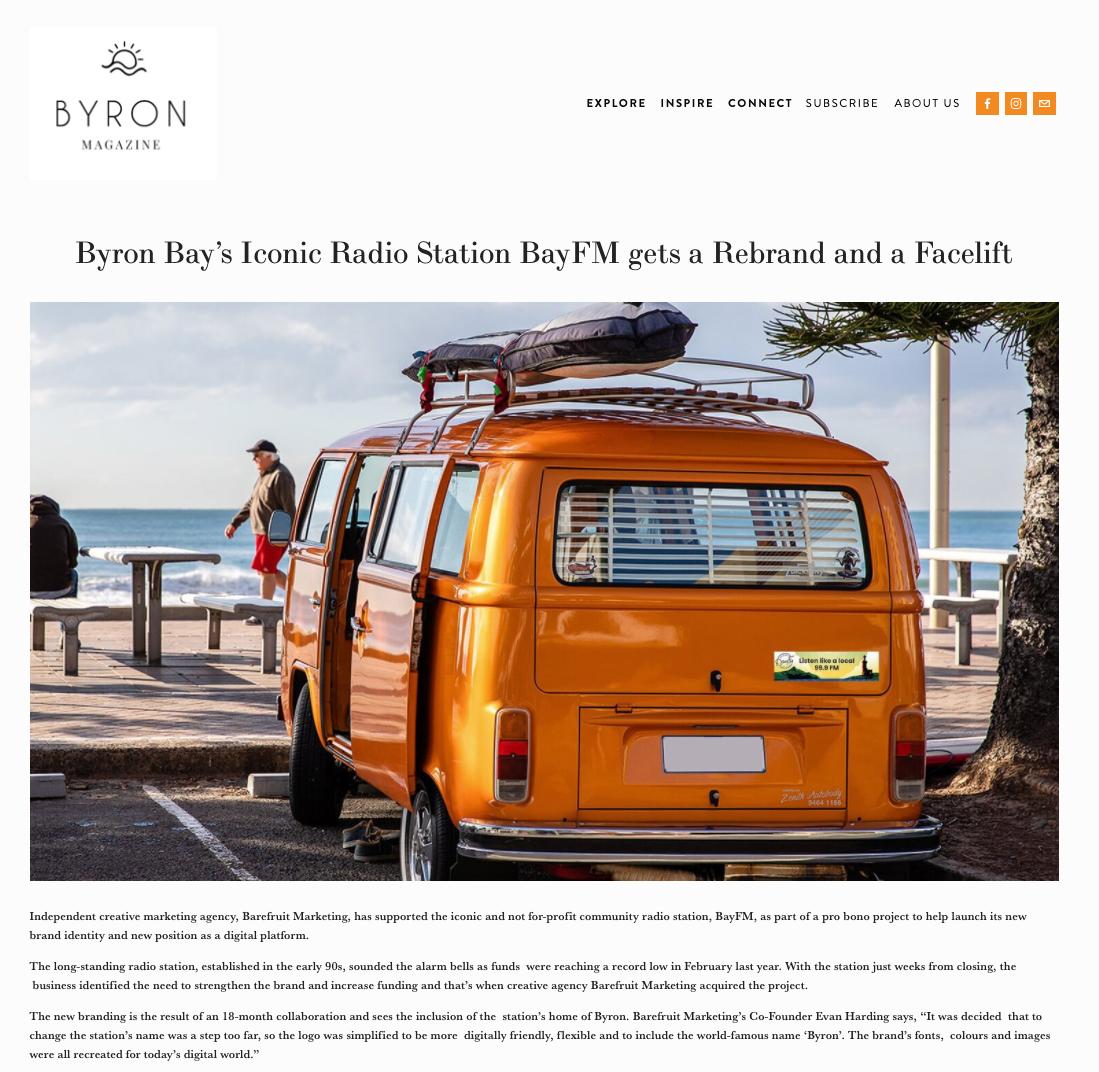 Rebrand for BayFM