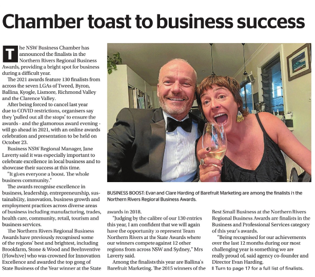 Northern Rivers Review - Ballina Business Excellence Awards
